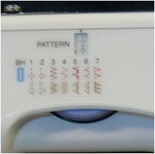 Швейная машинка New Home 1712, увеличенная